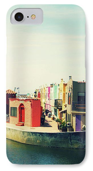 Capitola Venetian- Art By Linda Woods IPhone Case