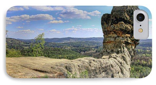 Capska Cudgel - Rock Formation IPhone Case by Michal Boubin