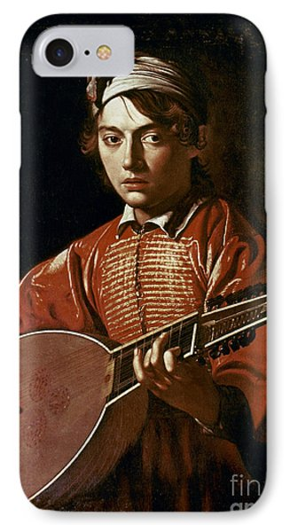 Caravaggio: Luteplayer Phone Case by Granger