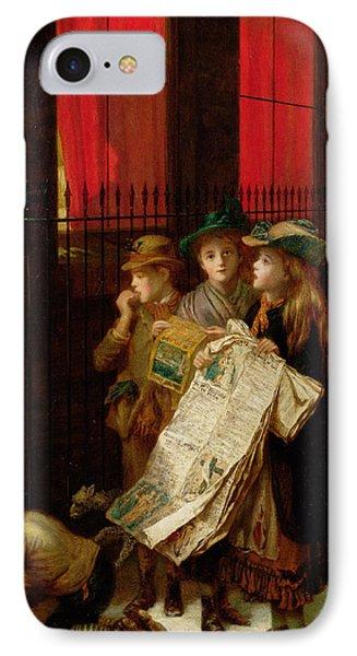 Carol Singers IPhone Case by Augustus Edward Mulready