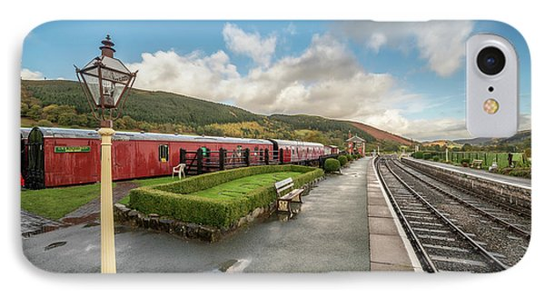 IPhone Case featuring the photograph Carrog Railway Station by Adrian Evans