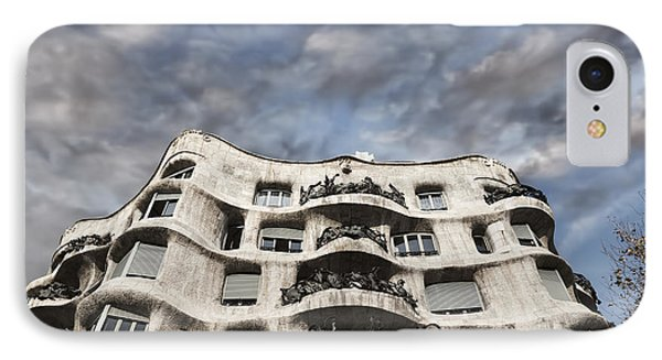 Casa Mila - Barcelona IPhone Case by Rod McLean