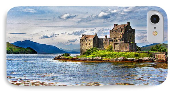 Castle In The Loch IPhone Case