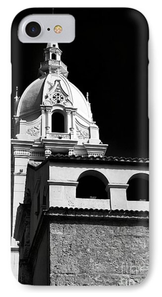 Cathedral In Cartagena Phone Case by John Rizzuto