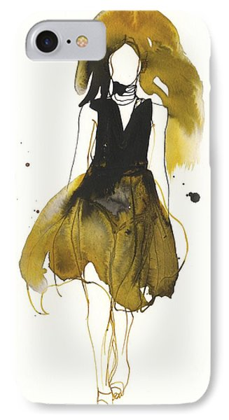Catwalk IPhone Case by Toril Baekmark