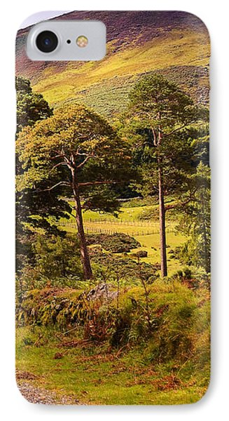 Celtic Spirit. Wicklow Mountains. Ireland Phone Case by Jenny Rainbow