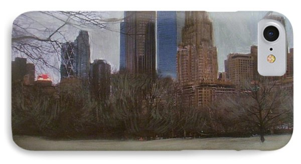 Central Park  Phone Case by Anita Burgermeister