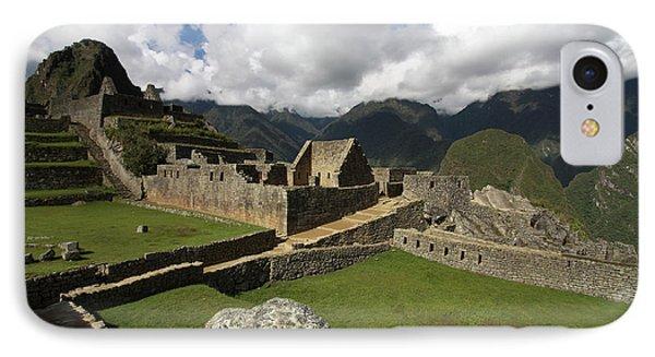 Central Plaza At Machu Picchu IPhone Case by Aidan Moran