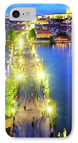 IPhone Case featuring the photograph Charles Bridge by Fabrizio Troiani