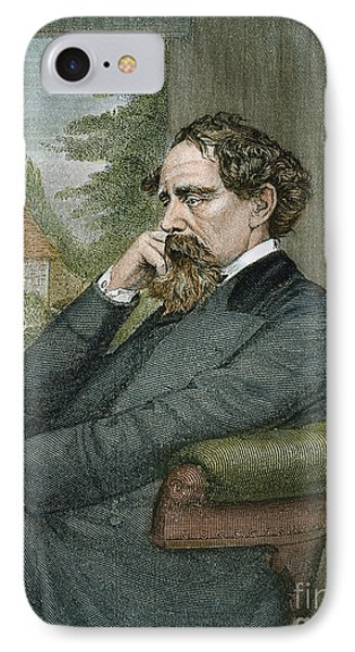 Charles Dickens Phone Case by Granger