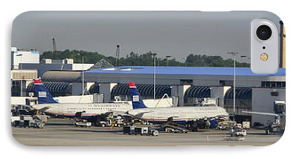 Charlotte Douglas International Airport Terminal IPhone Case by David Oppenheimer