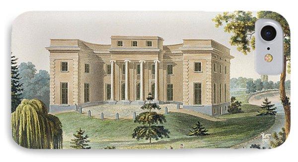 Chateau At Vinderhaute IPhone Case by Pierre Jacques Goetghebuer