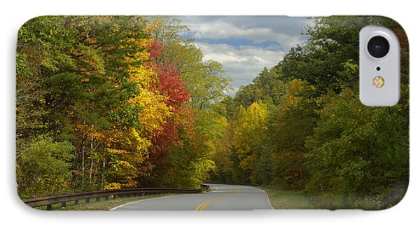 Cherohala Skyway In Autumn Color Phone Case by Darrell Young