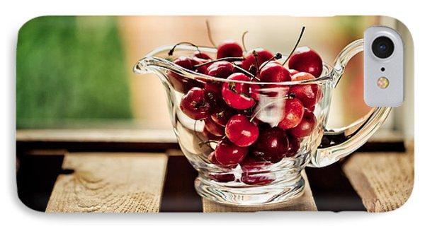 Cherries IPhone Case by Nailia Schwarz