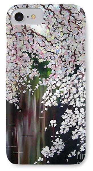Cherry Blossom IPhone Case by Irina Davis