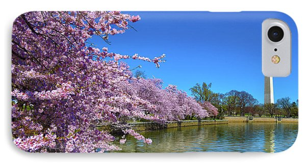 IPhone Case featuring the photograph Cherry Blossoms by Mitch Cat