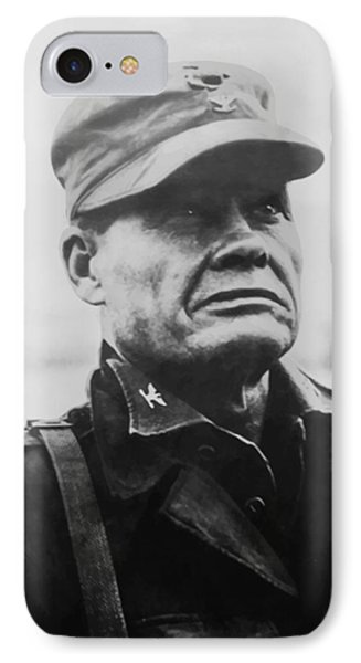 Cross iPhone 7 Case - Chesty Puller by War Is Hell Store
