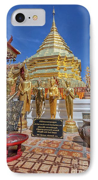 Chiang Mai Temple IPhone Case