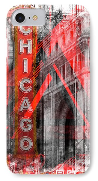 Chicago Geometric Mix No 4 IPhone Case by Melanie Viola