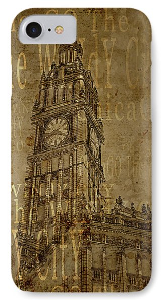 Chicago Wrigley Building IPhone Case