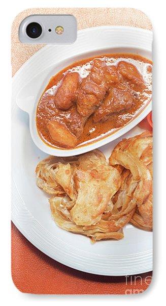 IPhone Case featuring the photograph Chicken Massaman Curry by Atiketta Sangasaeng