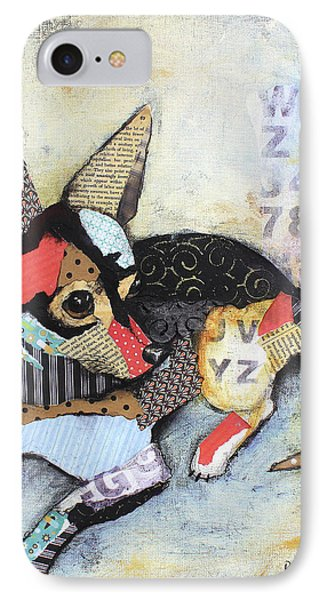 Chihuahua IPhone Case by Patricia Lintner