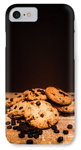 Choc Chip Biscuits IPhone Case