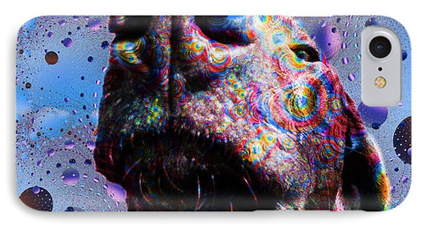 Chocolate Lab Nose IPhone Case by Roger Wedegis