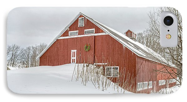 Christmas Barn IPhone Case