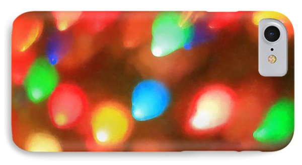 Christmas Lights IPhone Case by Dan Sproul