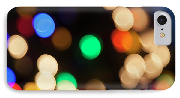 IPhone Case featuring the photograph Christmas Lights by Susan Stone