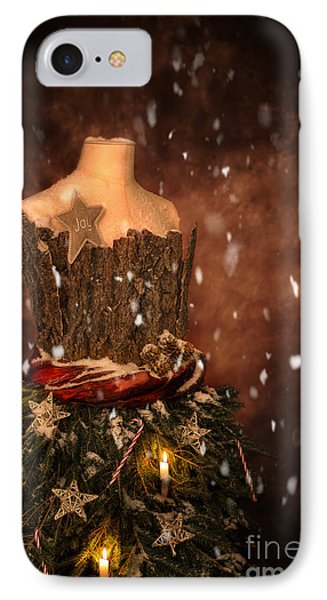 Christmas Mannequin IPhone Case