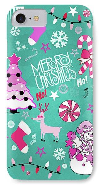 Christmas IPhone Case by Mark Ashkenazi