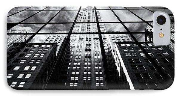 IPhone 7 Case featuring the photograph Chrysler Reflections by Jessica Jenney