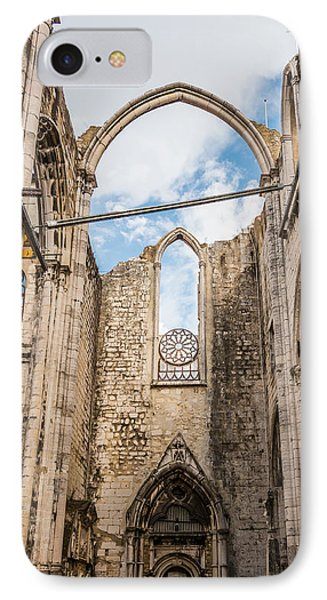 Church At Carmo Convent IPhone Case