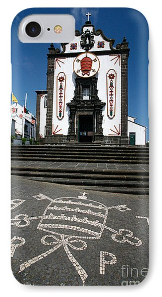 Church In The Azores Phone Case by Gaspar Avila