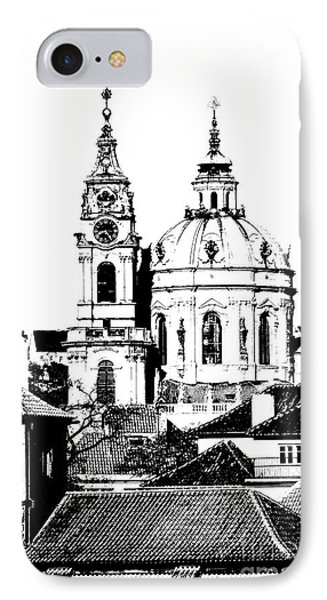 Church Of St Nikolas Phone Case by Michal Boubin