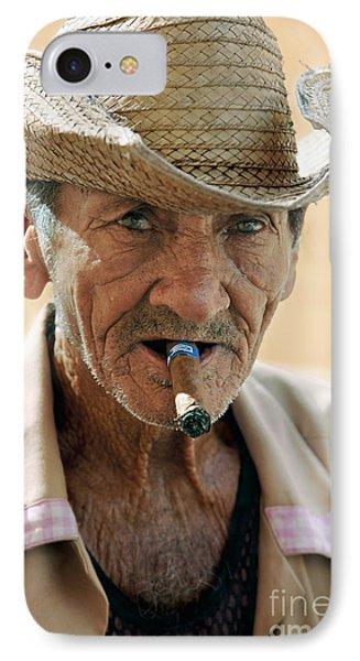 Cigar Smoking - Trinidad - Cuba IPhone Case