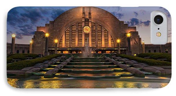 Cincinnati Museum Center At Twilight IPhone Case