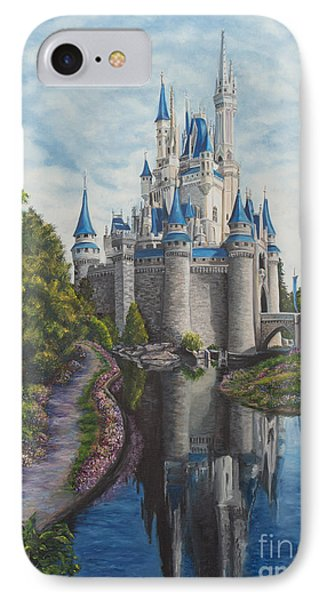 Cinderella Castle  Phone Case by Charlotte Blanchard