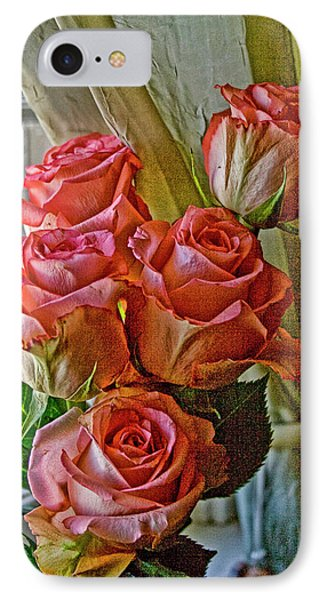 IPhone Case featuring the photograph Cindy's Roses by Bonnie Willis