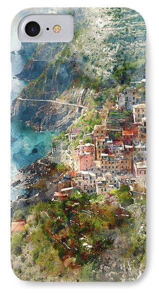 Cinque Terre In Italy IPhone Case