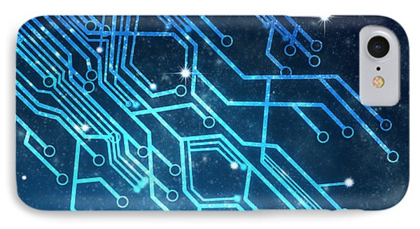 Circuit Board Technology IPhone 7 Case