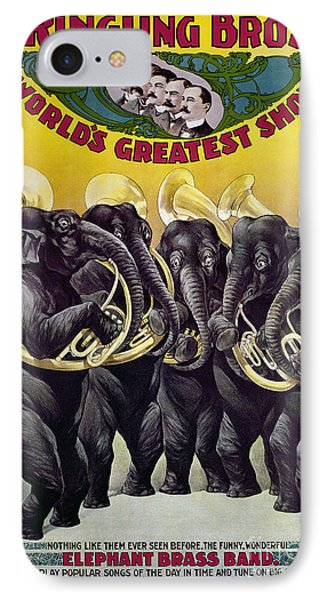 Circus Poster, C1899 Phone Case by Granger