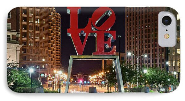City Of Brotherly Love IPhone Case by Frozen in Time Fine Art Photography