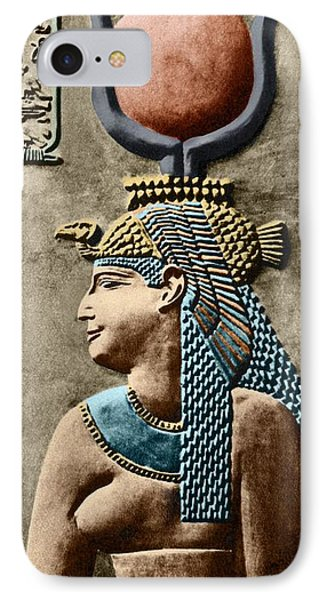 Cleopatra Vii IPhone Case by Sheila Terry