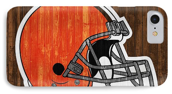 Cleveland Browns Barn Door IPhone Case by Dan Sproul