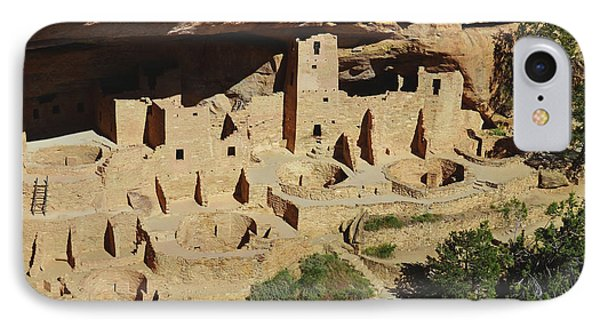 Cliff Palace Mesa Verde IPhone Case by Debby Pueschel