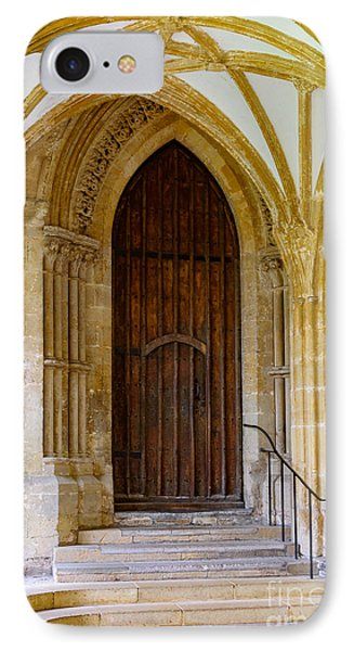 Cloisters, Wells Cathedral IPhone Case