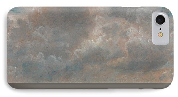 Cloud Study IPhone Case by John Constable